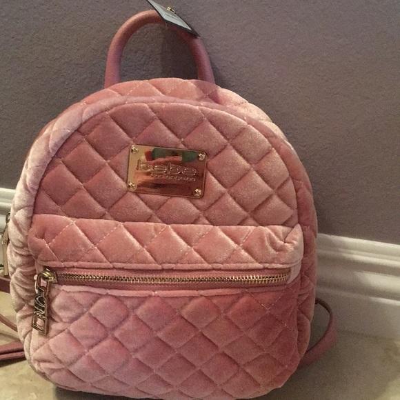 da273fa2994 Maria-velvet quilted mini backpack BLUSH